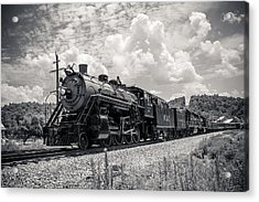 Steam Engine Acrylic Print by Darrin Doss