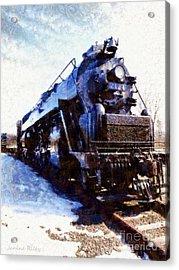 Steam Engine Locomotive 2124 Acrylic Print