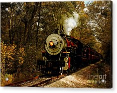 Steam Engine No. 300 Acrylic Print by Robert Frederick