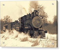 Steam Engine Number Two Acrylic Print by Robert Kleppin