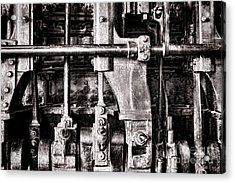 Steam Engine Acrylic Print by Olivier Le Queinec