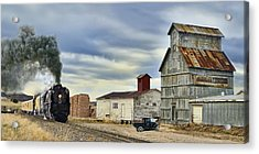 Steam In Castle Rock Acrylic Print