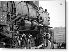 Steam Locomotive 1519 - Bw 02 Acrylic Print