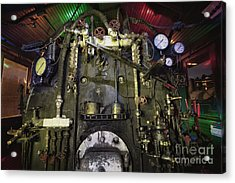Acrylic Print featuring the photograph Steam Locomotive Engine by Keith Kapple