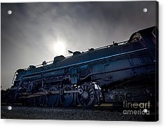 Acrylic Print featuring the photograph Steam Locomotive by Keith Kapple