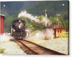 Steam Memories Acrylic Print