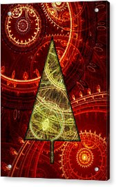 Steam Punk Christmas 1 Acrylic Print