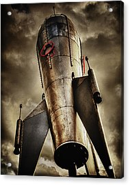 Steam Punk Take Off Acrylic Print
