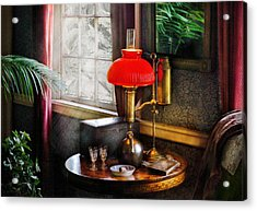 Steam Punk - Victorian Suite Acrylic Print by Mike Savad