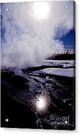 Acrylic Print featuring the photograph Steam by Sharon Elliott
