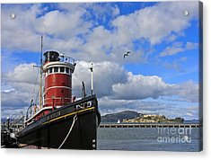 Acrylic Print featuring the photograph Steam Tug Hercules by Kate Brown
