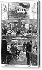 Steamboat, 1880 Acrylic Print
