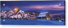 Steamboat Barn Acrylic Print