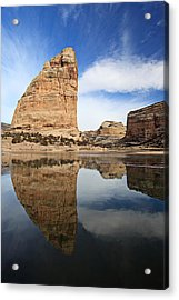 Steamboat Rock Face Acrylic Print