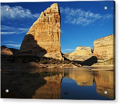 Steamboat Rock In Dinosaur National Monument Acrylic Print