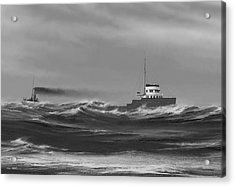 Steamer James Carruthers Acrylic Print by Captain Bud Robinson