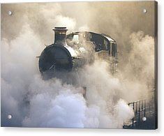Steaming At Dawn No1 Acrylic Print