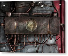 Steampunk - Connections   Acrylic Print by Mike Savad