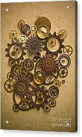 Steampunk Gears Acrylic Print