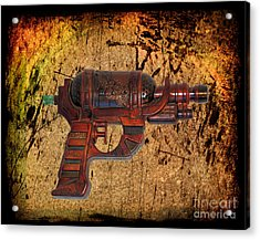 Steampunk - Gun - Ray Gun Acrylic Print by Paul Ward
