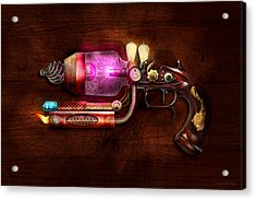 Steampunk - Gun -the Neuralizer Acrylic Print by Mike Savad