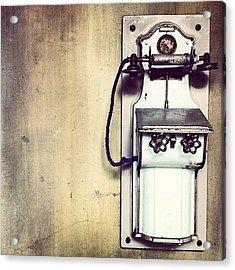 Steampunk Gypsyphone Acrylic Print