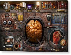 Steampunk - Information Overload Acrylic Print