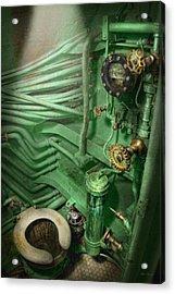 Steampunk - Naval - Plumbing - The Head Acrylic Print