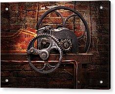 Steampunk - No 10 Acrylic Print by Mike Savad