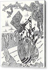 Steampunk Owl Acrylic Print