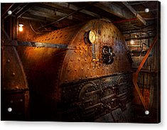 Steampunk - Plumbing - The Home Of A Stoker  Acrylic Print