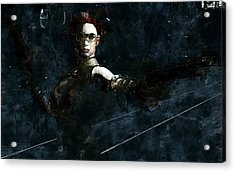 Steampunk Stand-off Acrylic Print