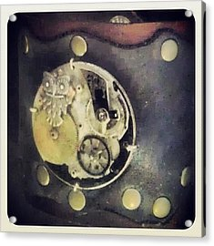 #steampunk #steampunkcuff Acrylic Print