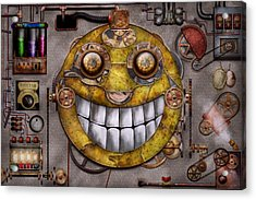 Steampunk - The Joy Of Technology Acrylic Print by Mike Savad