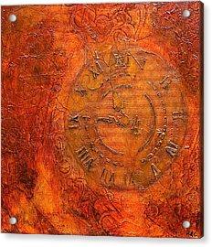 Steampunk Time Acrylic Print