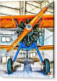 Stearman Biplane Acrylic Print
