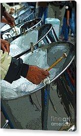 Steel Band Street Musicians Acrylic Print