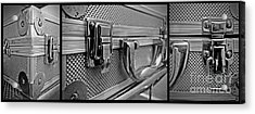 Steel Box - Triptych Acrylic Print by James Aiken