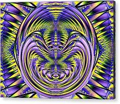 Steel Cheshire Acrylic Print by Tim Allen