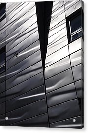 Steel Currents Acrylic Print by Rona Black