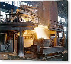 Steel Foundry, C1941 Acrylic Print by Granger