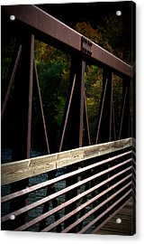 Acrylic Print featuring the photograph Steel Lines by Cathy Shiflett