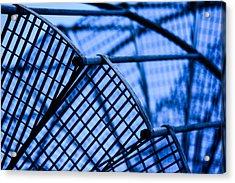 Steel Stairs  Closeup Acrylic Print