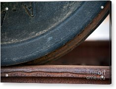 Steel Wheel Acrylic Print