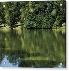 Steele Creek Park Reflections Acrylic Print