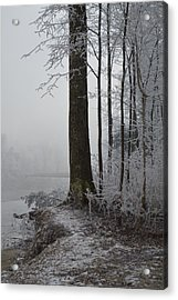 Steep And Frost Acrylic Print