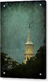 Steeple In A Storm Acrylic Print