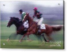 Steeplechase #1 - Fs000283 Acrylic Print