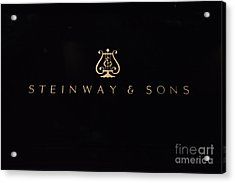 Steinway And Sons Acrylic Print