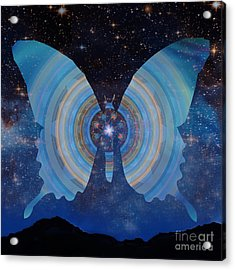 Stellar Butterfly Acrylic Print